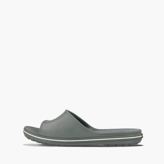 53efbb003368b ... SHOES CROCS CROCBAND II SLIDE 204108 SLATE GREY WHITE ...