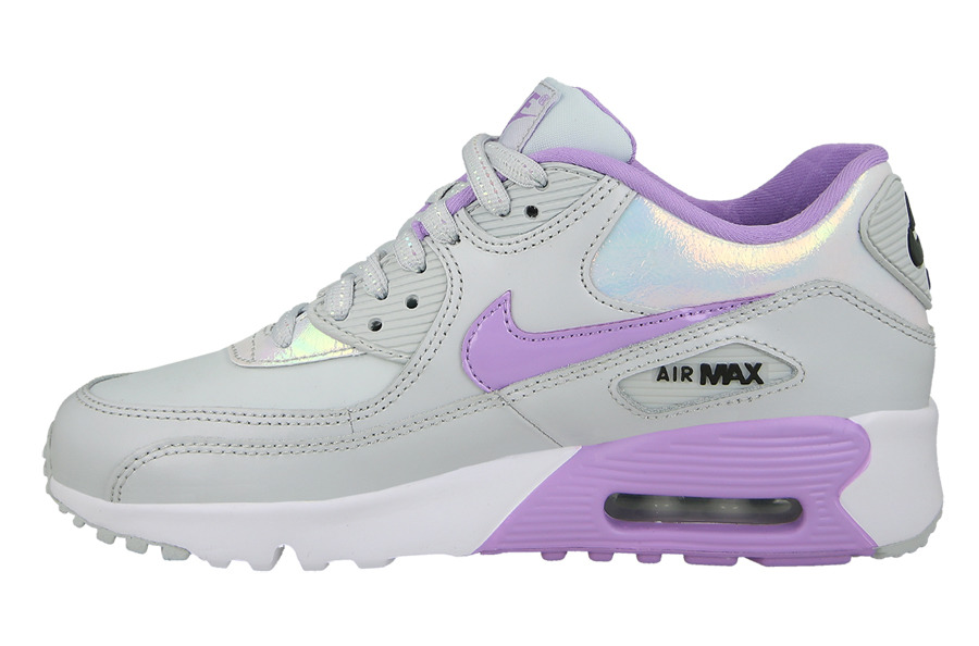 CHILDREN'S SHOES NIKE AIR MAX 90 SE LEATHER (GS) 859633 002