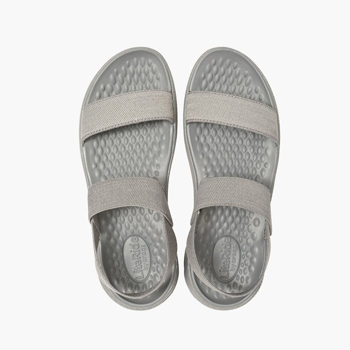 e5fa22540dce Crocs Literide Sandal 205106 SMOKE - best cheap shoes