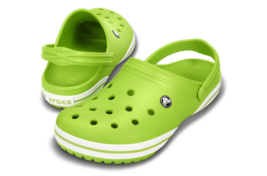 ... MEN'S SHOES CROCS CROCBAND X CLOG 14433 VOLT GREEN ...