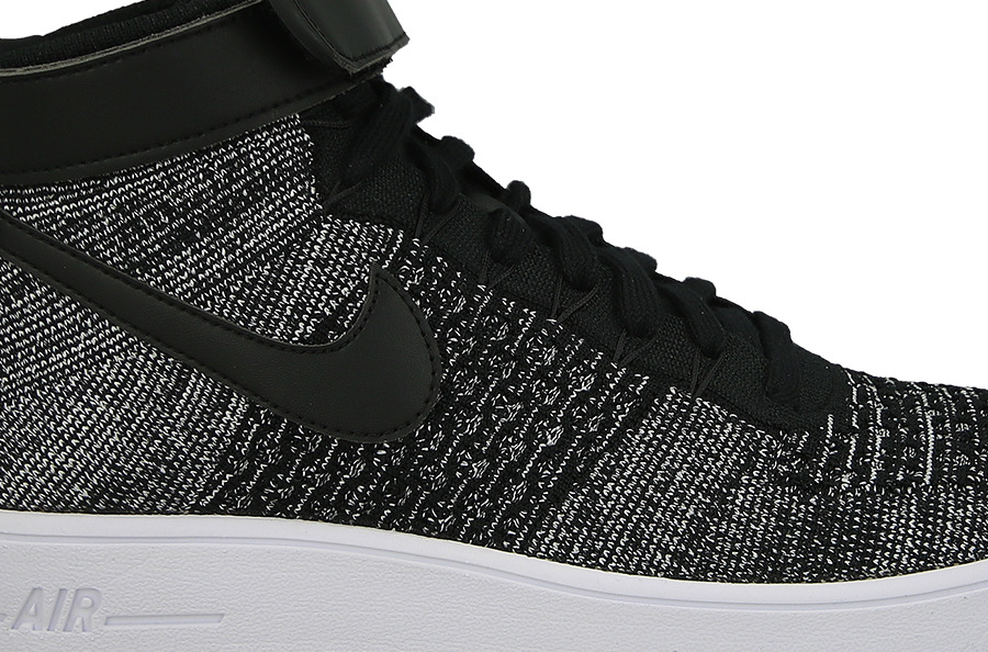 Nike Air Force 1 Ultra Flyknit Mid Oreo 817420 004