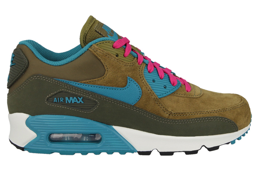 brand new f539e cdb3b WOMENS SHOES NIKE AIR MAX 90 LEATHER 768887 300 ...