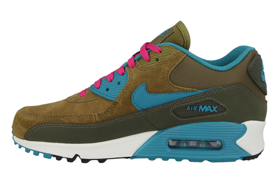 buy online fae25 40f38 ... WOMEN S SHOES NIKE AIR MAX 90 LEATHER 768887 300 ...