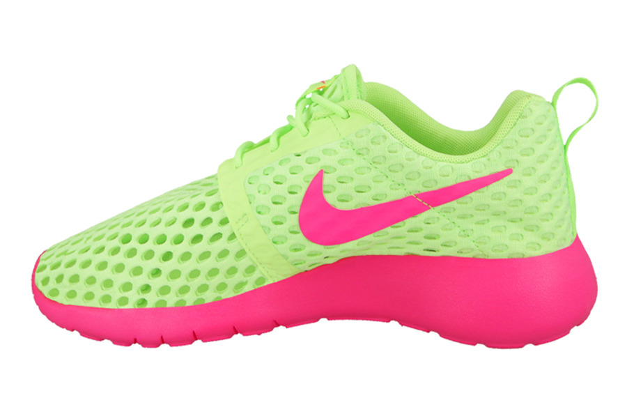 WOMEN'S SHOES NIKE ROSHE ONE FLIGHT WEIGHT (GS) 705486 300