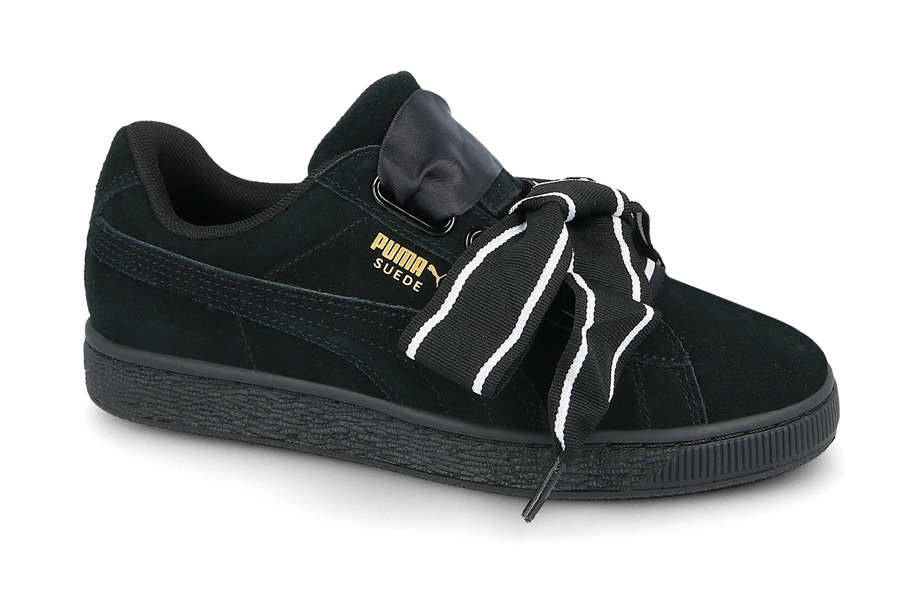 WOMES S SHOES PUMA SUEDE HEART SATIN II 364084 01 - best cheap shoes ... f3b04f047