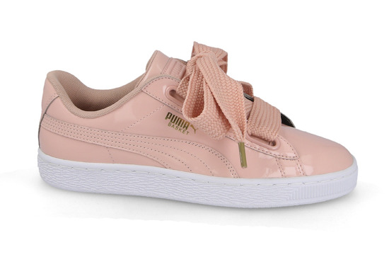 big sale 808e3 8efba SHOES Puma Basket Heart Patent 363073 11