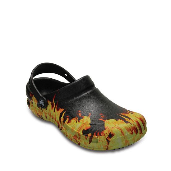 CROCS BISTRO GRAPHIC CLOG 204044 BLACK