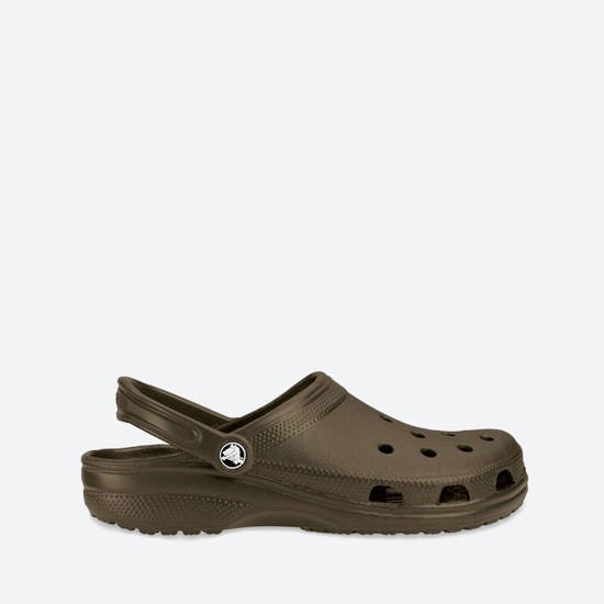 CROCS SHOES FLIP-FLOPS CLASSIC chocolate 10001