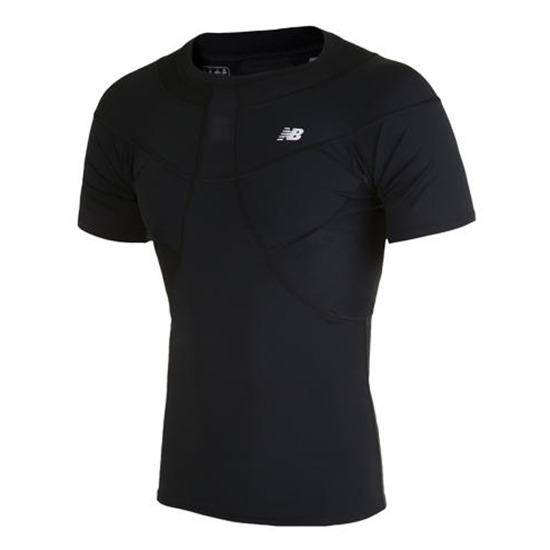 T-SHIRT COMPRESSION NEW BALANCE WSTM755 BK