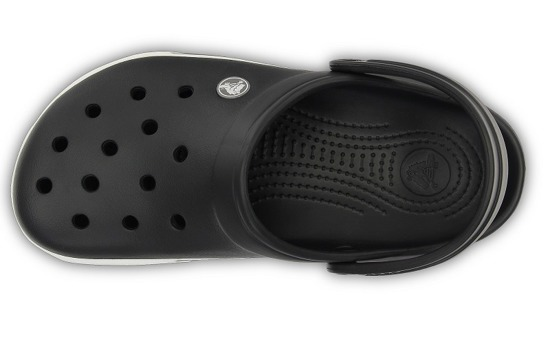 WOMEN'S SHOES CROCS CROCBAND 2.5 12836 BLACK