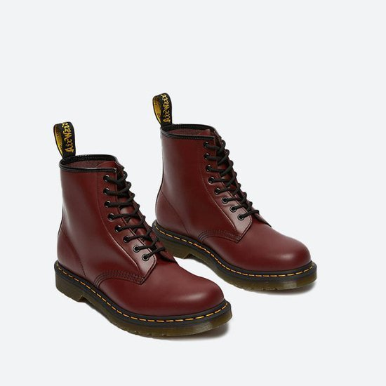 WOMEN'S SHOES  DR. MARTENS 1460 CHERRY RED