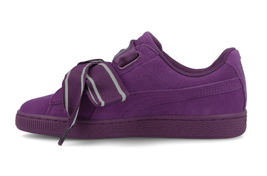 WOMEN'S SHOES PUMA SUEDE HEART SATIN II 364084 02